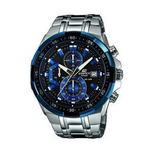 CASIO カシオ EDIFICE エディフィス クオーツ メンズ 腕時計 EFR-539D-1A2V ブラックxブルー|zumi