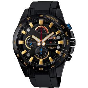 送料無料 CASIO EFR-540RBP-1A 腕時計 エディフィス Infiniti Red Bull Racing タイアップモデル レッドブル レーシング ブラック メンズ カシオ EDIFICE|zumi
