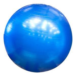バランスボール65cm エクササイズボール ヨガボール トレーニング ストレッチ フィットネス 健康器具 筋トレ 青【平日15時までのあすつく】|zumi