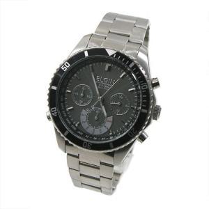 エルジン ELGIN 電波ソーラー 腕時計 メンズ クロノグラフ FK1315S-BP|zumi