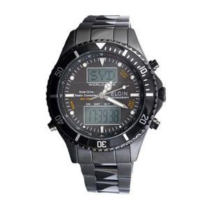エルジン ELGIN 電波 ソーラー ワールドタイム 腕時計 FK1349B-BP|zumi