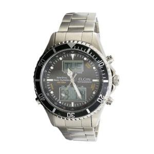 エルジン ELGIN 電波 ソーラー ワールドタイム 腕時計メンズ FK1349S-BP|zumi