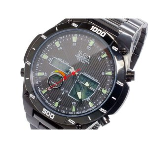 FK1398B-BP エルジン ELGIN 電波ソーラー腕時計 メンズ ワールドタイム|zumi