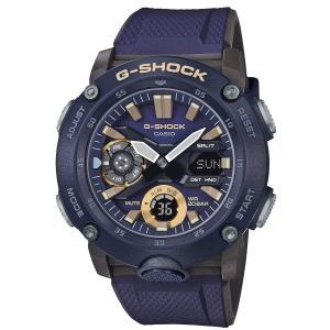 送料無料 CASIO G-SHOCK 腕時計 メンズ GA-2000-2A カーボンコアガード パープル|zumi