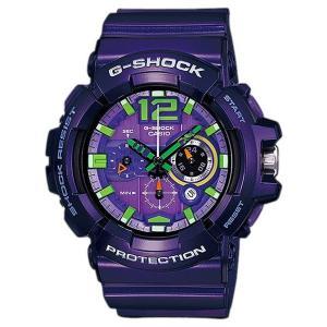 CASIO メンズ腕時計 G-SHOCK GAC-110-6A 海外モデル パープル|zumi