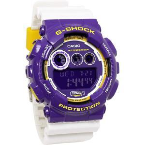 送料無料 CASIO カシオ 腕時計 GD-120CS-6 G-SHOCK メンズ パープル ホワイト 海外モデル ジーショック カシオ|zumi