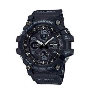 CASIO G-SHOCK Gショック MUDMASTER マッドマスター GSG-100-1A ブラック アナデジ 腕時計 メンズ|zumi