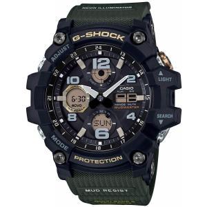 送料無料 CASIO G-SHOCK Gショック MUDMASTER マッドマスター GSG-100-1A3 ブラックxカーキ アナデジ 腕時計 メンズ|zumi