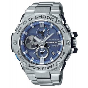 CASIO 腕時計 G-SHOCK ジーショック G-STEEL スマートフォン リンク GST-B100D-2A メンズ|zumi