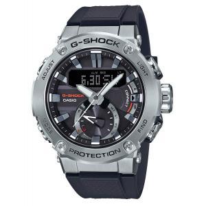 送料無料 CASIO 腕時計 GST-B200-1A ジーショック G-STEEL ソーラー カーボンコアガード構造 メンズ ブラック カシオ|zumi
