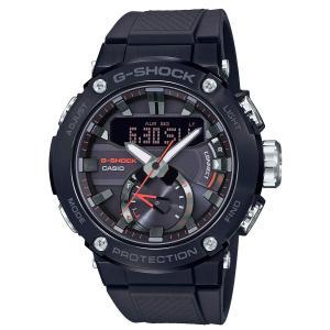 送料無料 CASIO 腕時計 ジーショック G-STEEL GST-B200B-1A ソーラー カーボンコアガード構造 メンズ ブラック カシオ|zumi