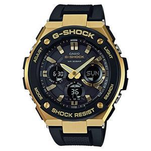 G-SHOCK GST-S100G-1A カシオ ゴールドxブラック CASIO 腕時計 メンズ アナデジ ソーラークォーツ G-STEEL Gスチール カシオ メンズ|zumi