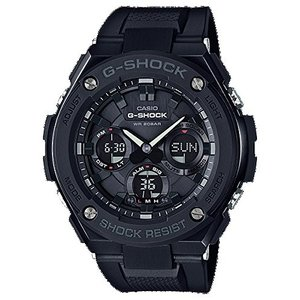 送料無料 G-SHOCK GST-S100G-1B カシオ フルブラック CASIO 腕時計 メンズ アナデジ ソーラークォーツ G-STEEL Gスチール カシオ メンズ|zumi