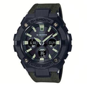 G-SHOCK GST-S130BC-1A3 カシオ ブラックxグリーン CASIO 腕時計 メンズ G-STEEL Gスチール|zumi
