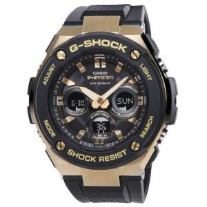 G-SHOCK GST-S300G-1A9 カシオ ゴールドxブラック CASIO 腕時計 メンズ アナデジ ソーラークォーツ G-STEEL Gスチール カシオ メンズ