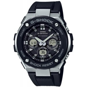 CASIO(カシオ) G-SHOCK G-ショック G-STEEL Gスチール GST-W300-1A ブラック×シルバー 腕時計 海外モデル メンズ|zumi
