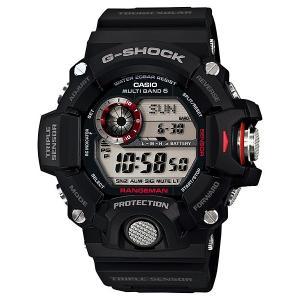 [カシオ]CASIO G-SHOCK Gショック GW-9400-1 RANGEMAN レンジマン デジタル腕時計 メンズ 電波ソーラー トリプルセンサー搭載|zumi
