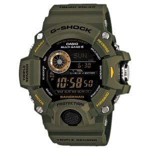 送料無料 CASIO メンズ 腕時計 G-SHOCK GW-9400-3 電波ソーラー 海外モデル レンジマン グリーン ミリタリー カーキ|zumi