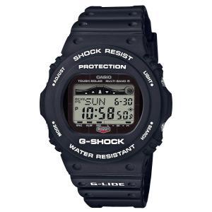 送料無料 CASIO G-SHOCK GWX-5700CS-1 G-LIDE 電波ソーラー ブラック ジーショック Gショック メンズ 腕時計 カシオ|zumi