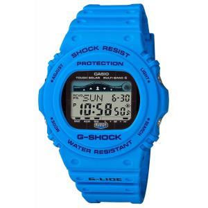 送料無料 CASIO G-SHOCK GWX-5700CS-2 G-LIDE 電波ソーラー ブルー ジーショック Gショック メンズ 腕時計 カシオ|zumi