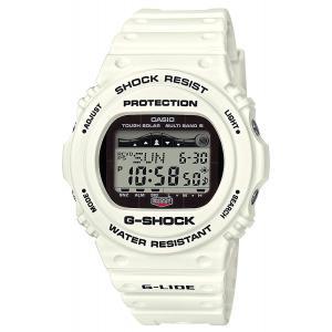 送料無料 CASIO G-SHOCK GWX-5700CS-7 G-LIDE 電波ソーラー ホワイト ジーショック Gショック メンズ 腕時計 カシオ|zumi