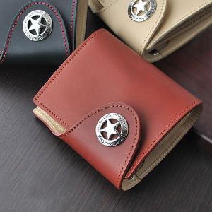 折り財布 高級牛革 短財布 折財布 メンズ財布 IMPALA インパラ 600 ヌメ革使用 ショートウォレット  |zumi