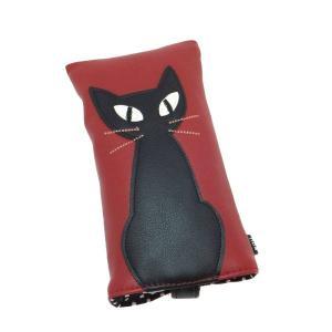 メガネケース 眼鏡入れ ネコ 猫 雑貨 ノアファミリー  キャット j259【代引き不可】|zumi