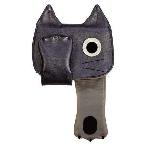 カードファイル カード入れ ネコ 猫 可愛い キャットカードファイル ブラック 黒 プレゼント ノアファミリー noafamily 代引き不可|zumi