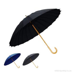 サントス Santos 和傘 65cm 24本骨 メンズ和傘 匠 匠の傘 JK-03 メンズ 長傘 傘  匠 65cm 雨傘 手開き傘 丈夫 黒 紺 グレー|ギフト百貨のzumi