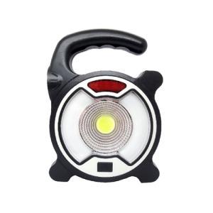 送料無料 COB+LEDライト COBランタン 手提げランタン 懐中電灯 警告灯 キャンプ アウトドア 散歩 夜間 暗所 災害時 停電時 USB充電 モバイルバッテリー|zumi