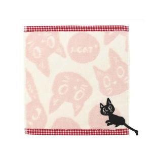 猫 雑貨 ハンカチ ネコ ノアファミリー タオルハンカチ K36 可愛い 母の日 プレゼント noafamily|zumi
