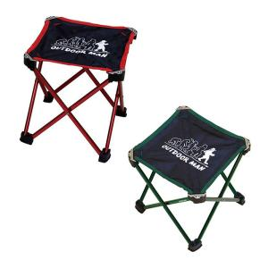 折りたたみ椅子 イス アルミチェア キャンプ 専用バッグ付き 持ち運び楽々 耐荷重90kg 重量300g 軽量 アウトドア OUTDOOR MAN zumi