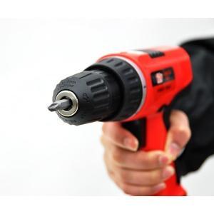 コードレス電動ドライバーセット92P 92点セット DIY 工具 充電式 電動ドリル コードレス 家庭用|zumi|03