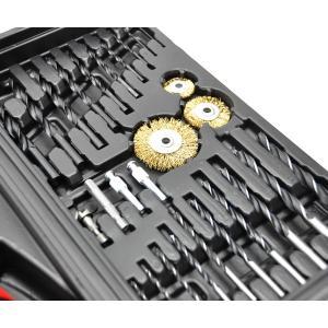 コードレス電動ドライバーセット92P 92点セット DIY 工具 充電式 電動ドリル コードレス 家庭用|zumi|06