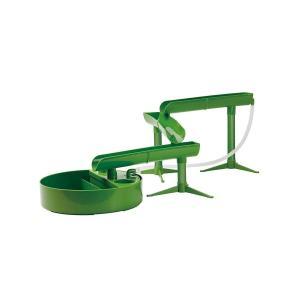 本格 流しそうめん グリーン 流しそうめん機 組み換え自由 スライダー ファミリー 竹カラー KK-00546