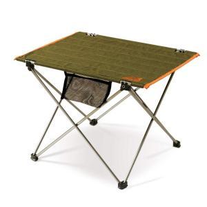 送料無料 OUTDOOR MAN ロールアップアルミテーブル KOFT-001G アウトドア ローテーブル キャンプ コンパクト BBQ バーベキュー zumi