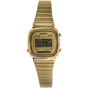 送料無料 CASIO カシオ LA-670WGA-9 クオーツ ゴールド 腕時計 デジタル レディー...
