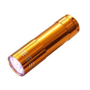 懐中電灯 LED ハンディライト ハンドライト 小型 軽量 高輝度 9灯 超寿命|zumi