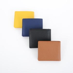 短財布 折り財布 レザー カードスライダー付き さいふ サイフ シンプル 無地 ビジネス イタリアンレザー ラ・ペレ LA PELLE LP-1004 代引き不可|zumi