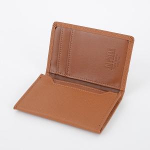 名刺入れ カードケース メンズ レディース レザー シンプル 無地 ビジネス イタリアンレザー ラ・ペレ LA PELLE LP-1005 代引き不可|zumi