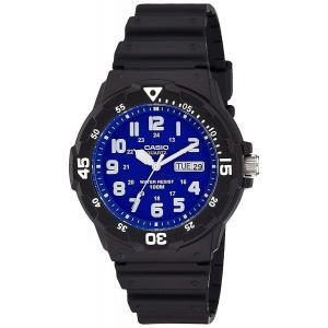 送料無料 CASIO STANDARD カシオ MRW-200H-2B2 スタンダード ブルー 腕時計 メンズ スポーツ チープカシオ チプカシ|zumi