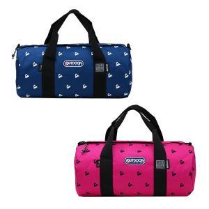OUTDOOR PRODUCTS アウトドア ボストンバッグ かばん 鞄 機関車刺繍【協賛特別価格】|zumi