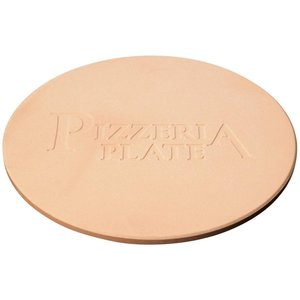 [冷凍ピザもパリッと焼ける] ピッツェリアプレート ストーン製 23cm チルドピザもパリッと焼き上がり 送料無料|zumi