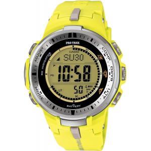 CASIO (カシオ) プロトレック PROTREK 腕時計 PRW-3000-9B イエロー メンズ 海外モデル|zumi
