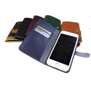 スマホケース iPhoneケース 日本製 本革 牛革 イタリアンレザー iPhone6/6s専用 PS-006IP【代引き不可】 zumi