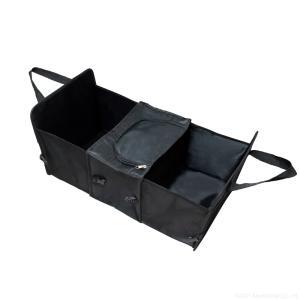 送料無料 車載用折りたたみ収納ボックス 収納ケース 取付簡単 BBQ ハンモック 旅行 キャンプ SA-3667|zumi