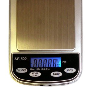 デジタルポケットスケール 0.01g単位 デジタル計量器 SF-700 【平日15時まで翌日配達】|zumi