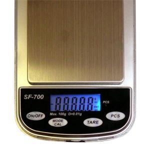 デジタルポケットスケール 計量器 0.01g単位 デジタル計量器 SF-700【代引き不可】|zumi