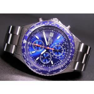 SEIKO SND255P1 SND255PC メンズ腕時計 海外モデル クロノグラフ ブルー|zumi|03