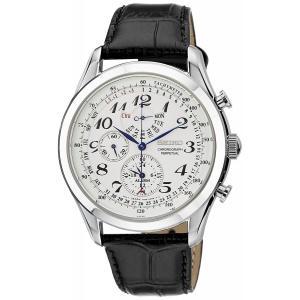 送料無料 SEIKO メンズ 腕時計 SPC131P1 海外モデル クオーツ アラーム クロノグラフ セイコー パーペチュアル|zumi